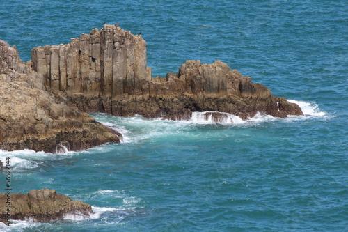 日向岬の岩礁