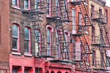 Philadelphia fire escapes, United States
