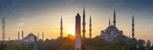 Fotobehang Turkey Sultanahmet Camii / Blue Mosque, Istanbul, Turkey