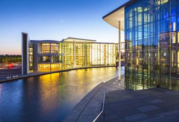 Governemnt buildings, River Spree, Berlin, Germany