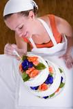 Retouching Wedding Cake poster