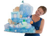 Baby Diaper Cake with Diffrent Items Presented