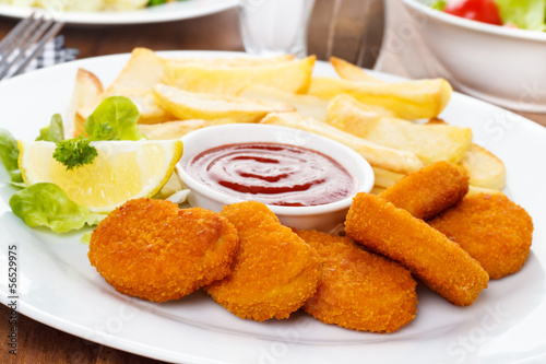 Chicken Nuggets - Hähnchenbrustfilets