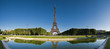 Eiffel Tower Reflected, Paris