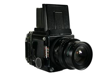 Retro Medium Format Film Camera