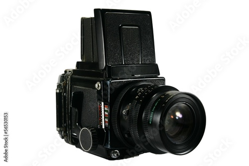 Retro Medium Format Film Camera