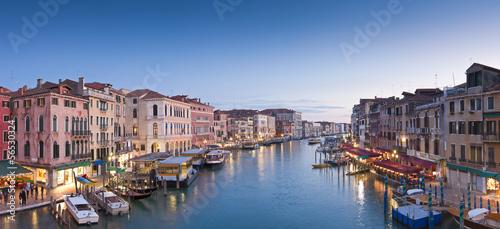 Grand Canal, Villas and Gondolas, Venice - 56530324