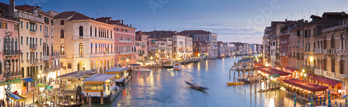 Grand Canal, Villas and Gondolas, Venice - 56530345