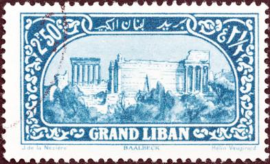 Roman ruins, Baalbek (Lebanon 1925)