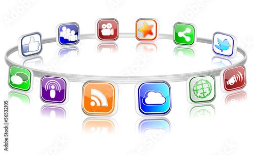 Social Media Ring 2