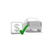 car, dollar, money, buy, sell,
