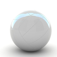 3d volleyball isolated