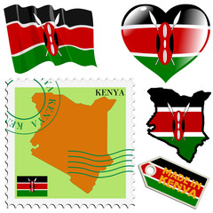 national colours of Kenya