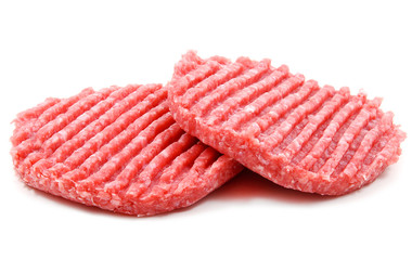 Due hamburger crudi