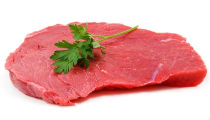 Carne cruda con prezzemolo