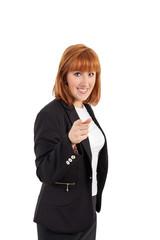Młoda bizneswoman