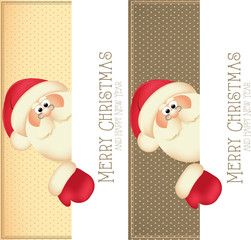 Santa Claus labels