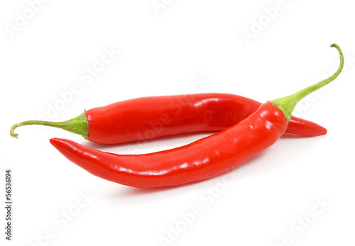 Due peperoncini rossi