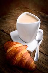 caffelatte e brioche - italian breakfast
