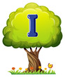 A tree with a letter I