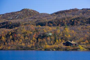 mountain range near Urdvassheii Peak, Norway