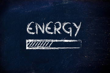 energy prograss bar loading