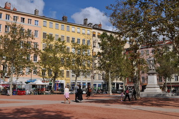 Place de la Croix-Rousse, Lyon