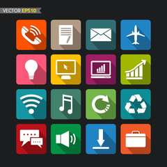 Website icons vector set 3