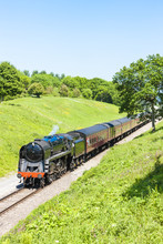 train à vapeur, Gloucestershire Warwickshire Railway, Gloucestershi