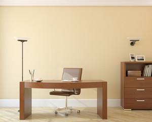 Office interior.