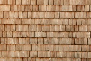 Holzschindeln / Holzwand