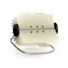 Vector card file