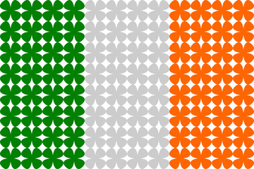 Ireland Flag Pattern