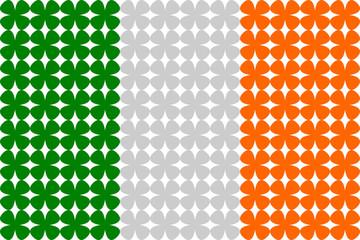 Ireland Flag Pattern