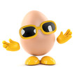 Egg is very friendly