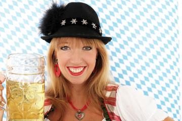 Junge Frau aus Bayern
