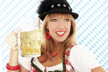 Hübsche Frau aus Bayern