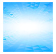 abstract perspective blue background