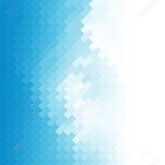 business concept abstract blue background