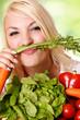 canvas print picture - Spaß mit Gemüse