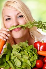 Spaß mit Gemüse