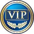 VIP Blue Elite Label