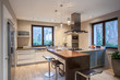 Travertine house- Pleasant kitchen