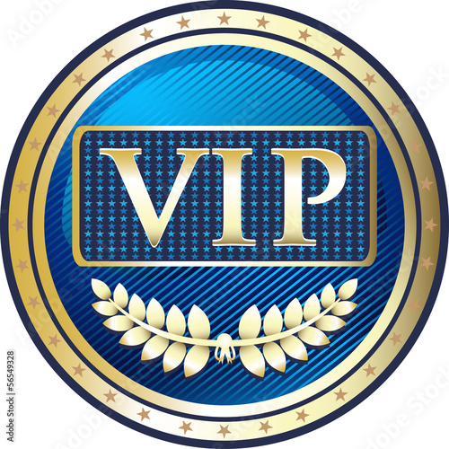 VIP Blue Elite Label