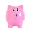 Sparschwein mit Dollarzeichen