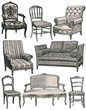 French vintage furniture
