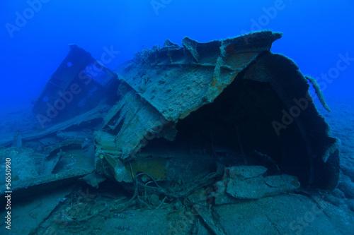 Aluminium Schipbreuk Schiffswrack vor Gran Canaria