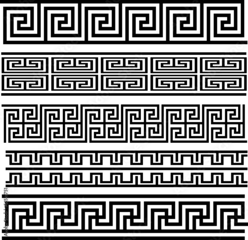 Seamless Meander Patterns