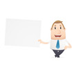 manager in various poses for use in advertising, presentations,