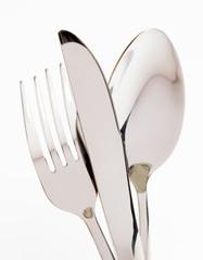 Cutlery. Closeup